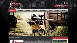 Thiết kế web CLB súng sơn V1