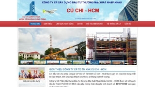 Thiết kế Website Xây Dựng Củ Chi