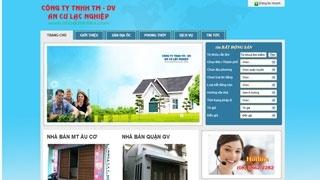 Thiết kế web Nhà Đất Sinh Lợi