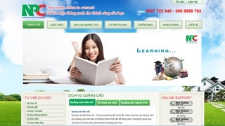 Thiết kế web Công ty Nam Phú
