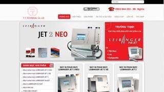Thiết kế web site Công ty Trường Thịnh