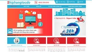 Thiết kế website Ship hàng tốc độ