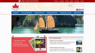 Thiết kế web Du lịch Kinh Đô Việt